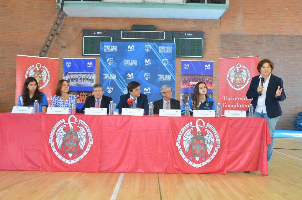 La Complutense y Movistar Estudiantes se unen para fomentar el deporte formativo en la Universidad