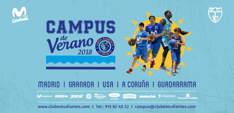 Campus de Verano 2018 de Movistar Estudiantes
