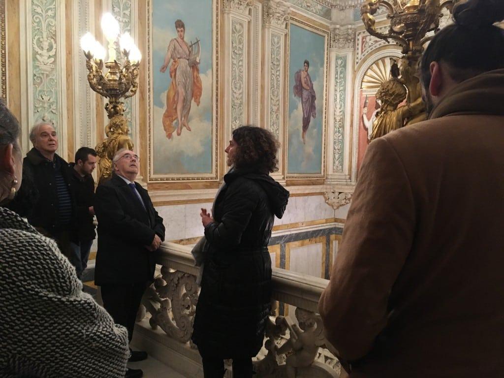 Visita privada al Palacio de Santoña con el Club de Negocios Movistar Estudiantes y la Cámara de Comercio de Madrid