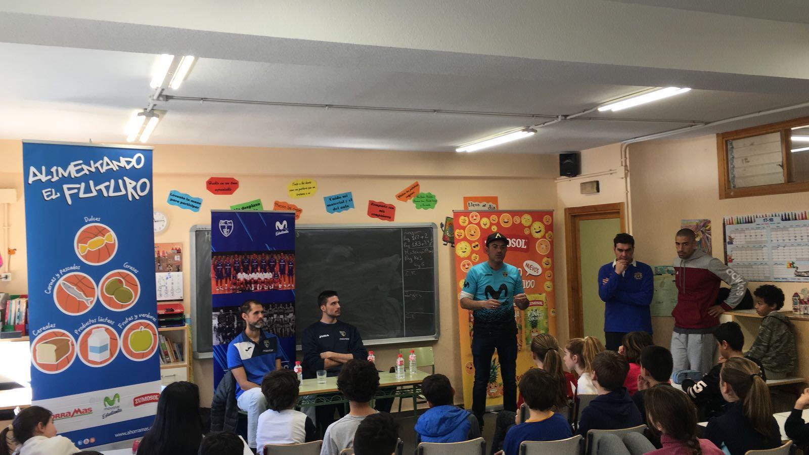 """Movistar Estudiantes, """"Alimentando el Futuro"""" del CEIP Nuestra Señora de Lourdes"""