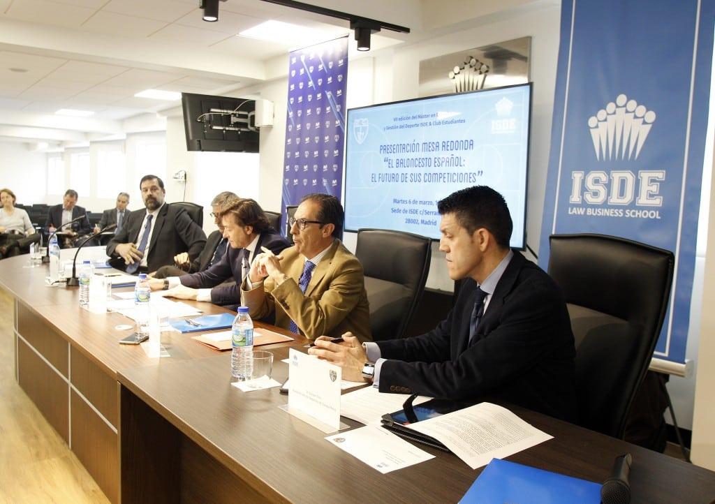 La presentación del Máster en Derecho y Gestión del Deporte ISDE – Club Estudiantes, en medios