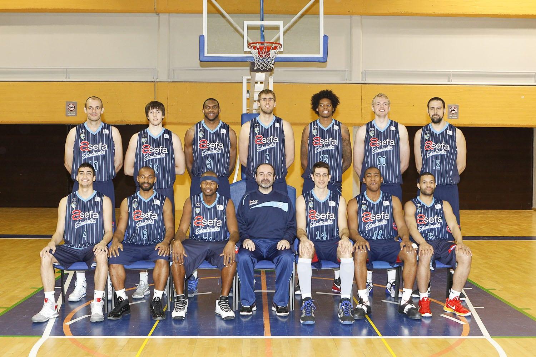 Asefa Estudiantes. Primer equipo 2011-12