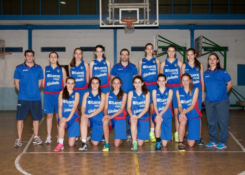 Cadete B Femenino. Tuenti Móvil Estudiantes 2013-14