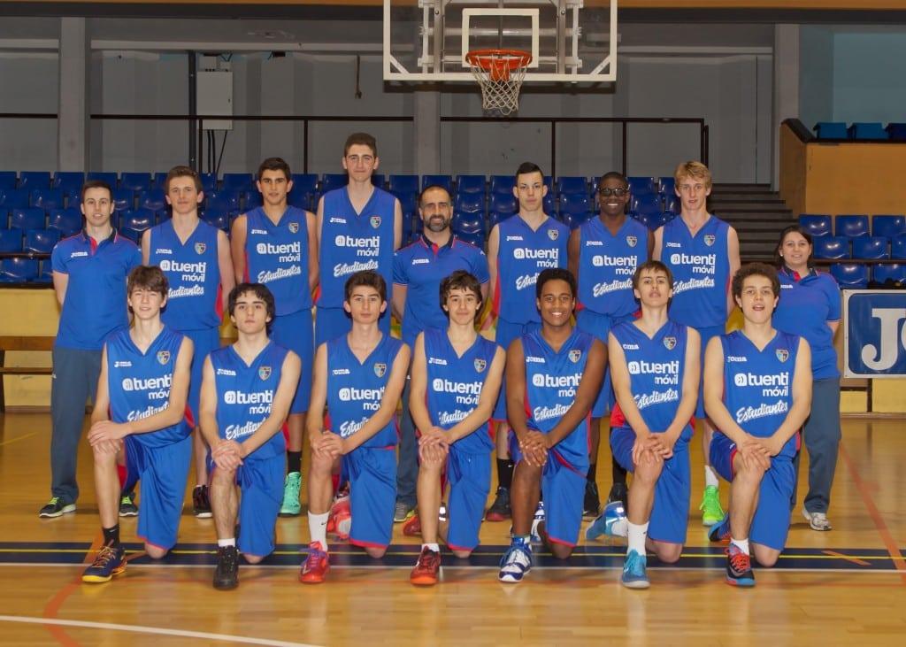 Cadete B Masculino Tuenti Móvil Estudiantes 2013-14
