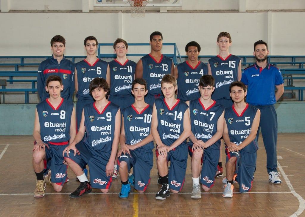Cadete C Masculino. Tuenti Móvil Estudiantes 2013-14
