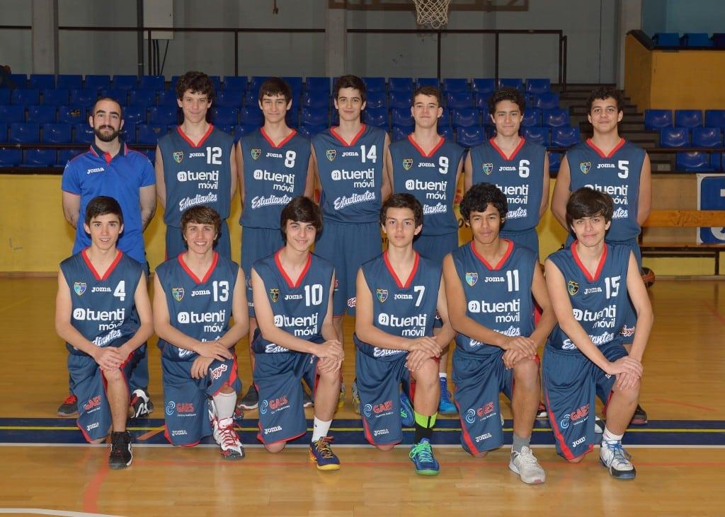 Cadete F Masculino. Tuenti Móvil Estudiantes 2013-14