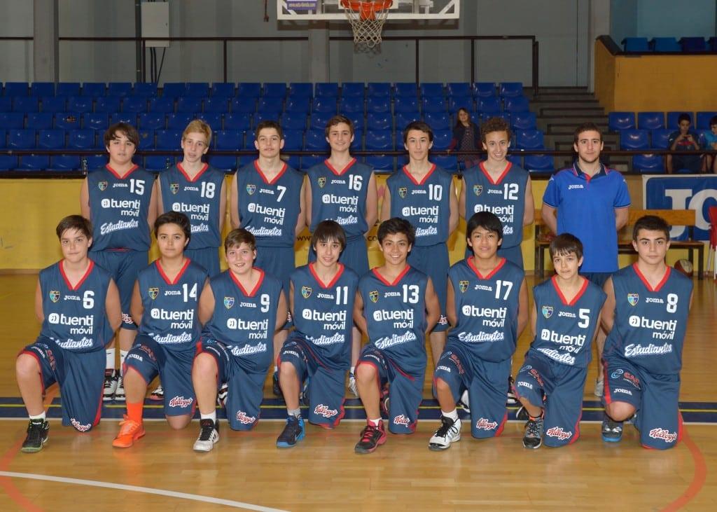 Infantil F Masculino. Tuenti Móvil Estudiantes 2013-14