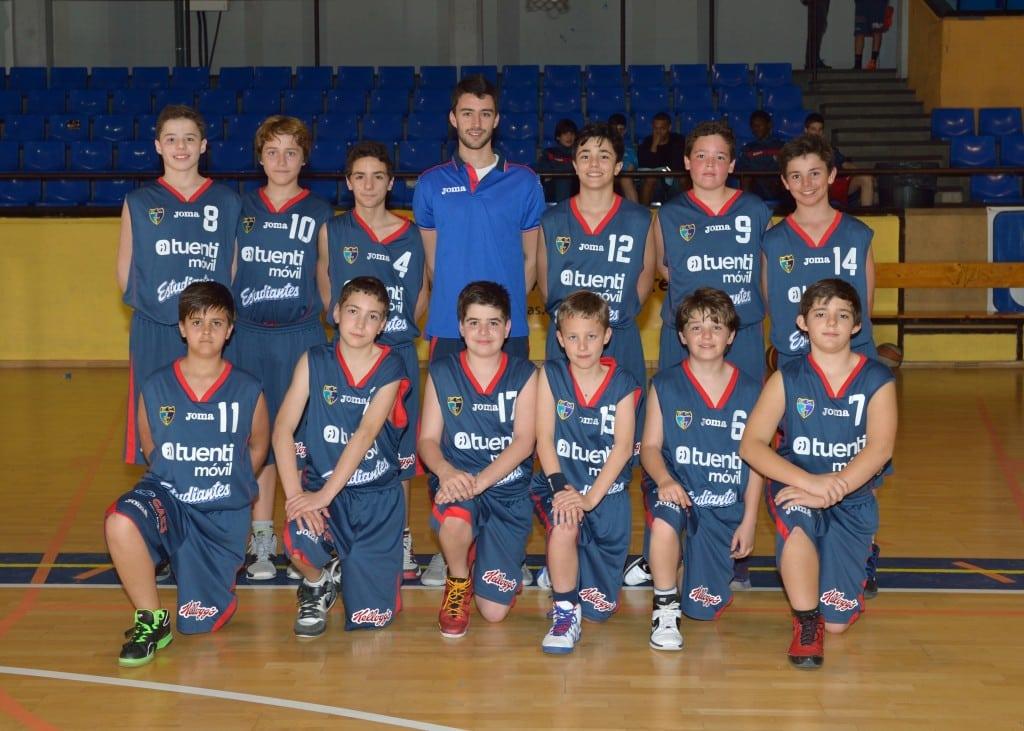 Preinfantil B Masculino. Tuenti Móvil Estudiantes 2013-14