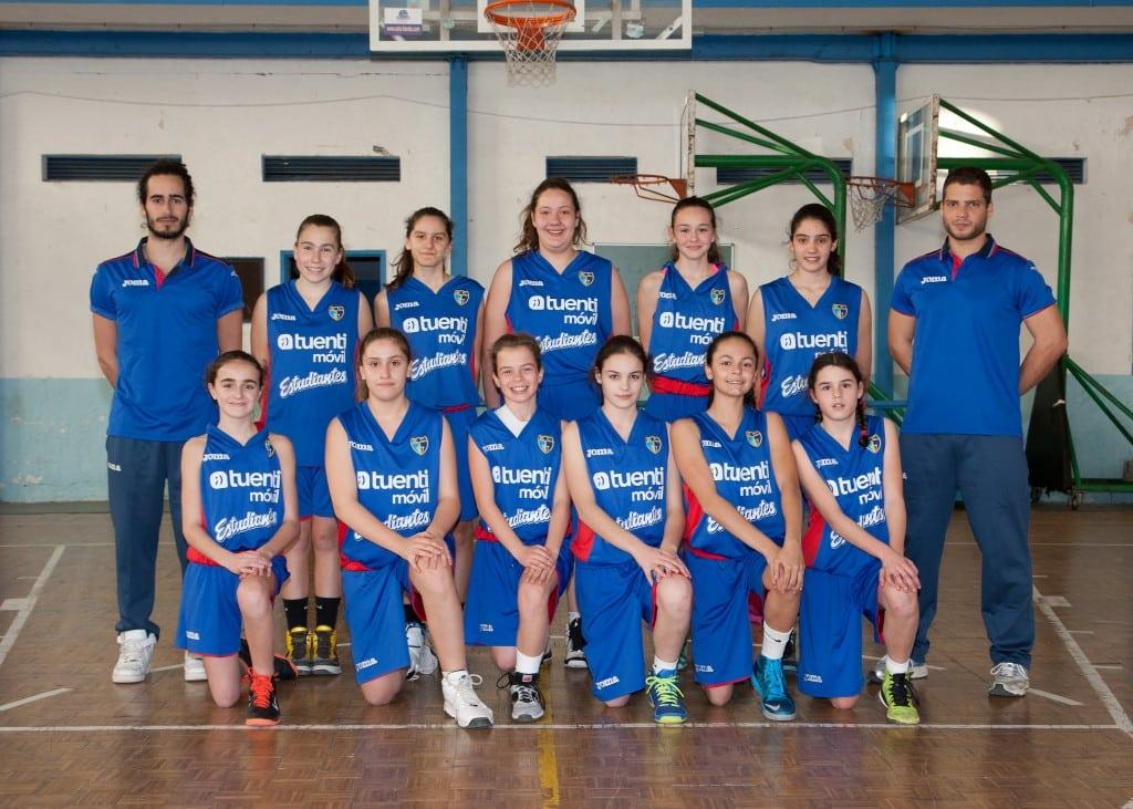 Infantil B Femenino. Tuenti Móvil Estudiantes 2013-14