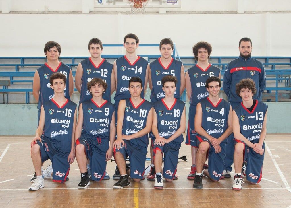 Junior E Masculino. Tuenti Móvil Estudiantes 2013-14