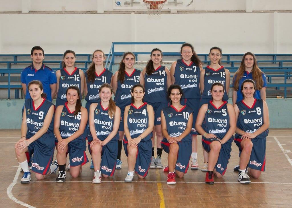 Junior B Femenino. Tuenti Móvil Estudiantes 2013-14