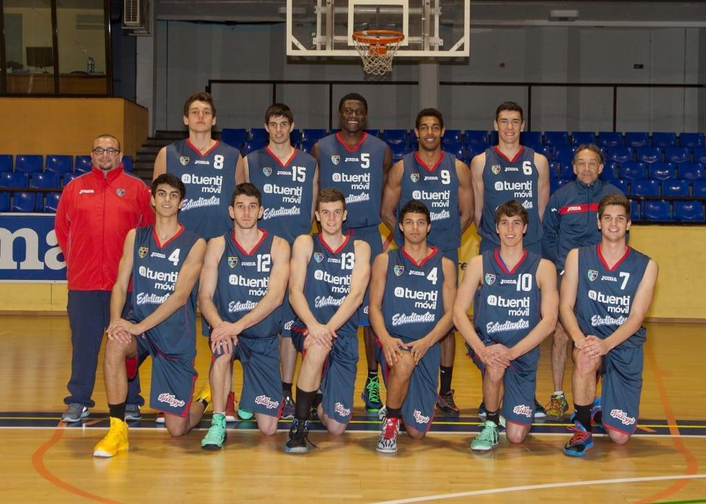Senior B Masculino (Liga EBA). Tuenti Móvil Estudiantes 2013-14