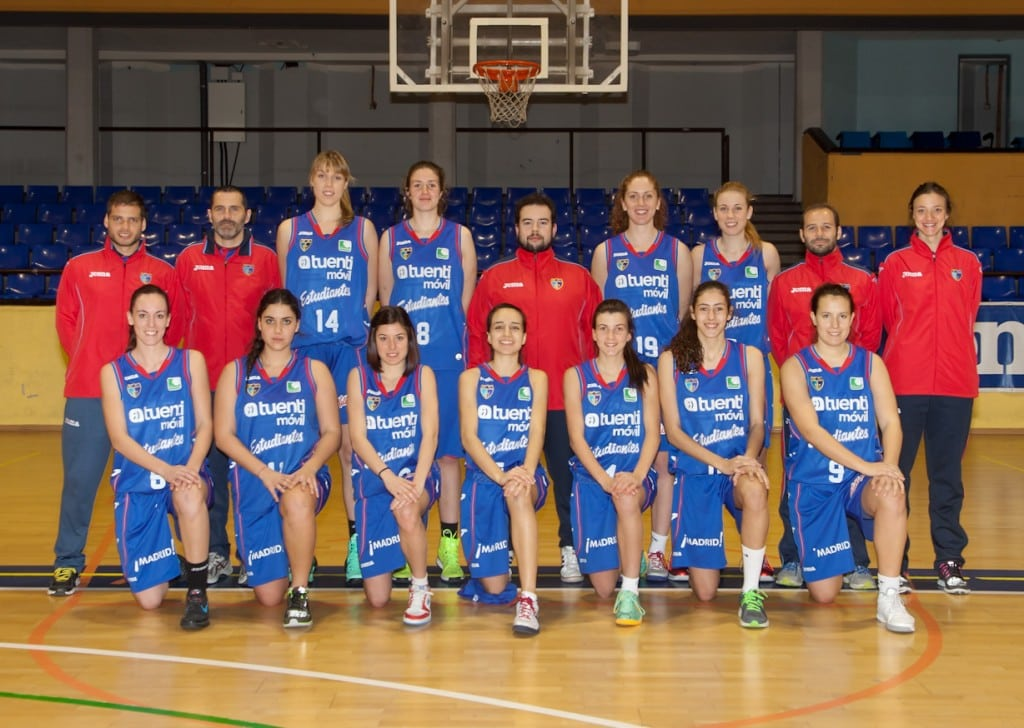 Tuenti Móvil Estudiantes 2013-14. Senior Femenino (Liga Femenina 2)