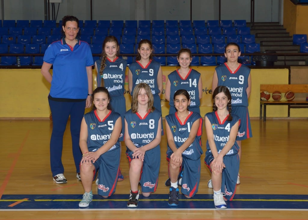 Preinfantil B Femenino. Tuenti Móvil Estudiantes 2013-14