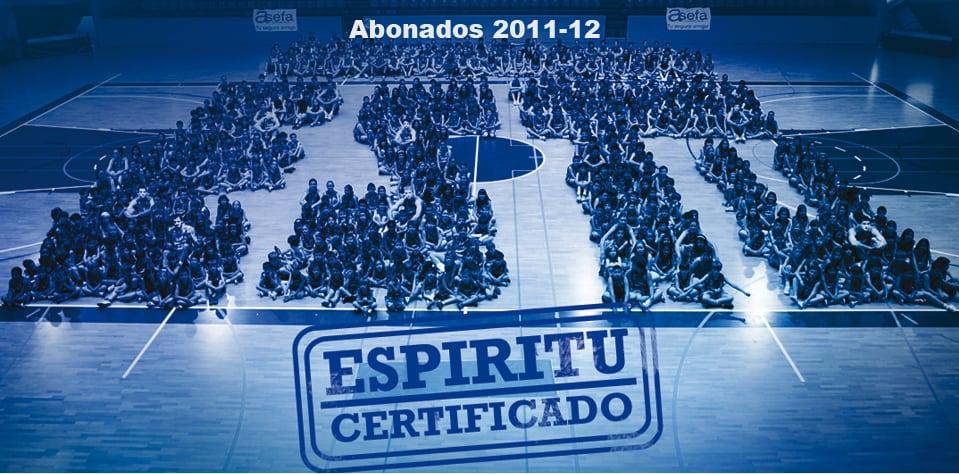 Campaña Abonados Asefa Estudiantes 2011-12