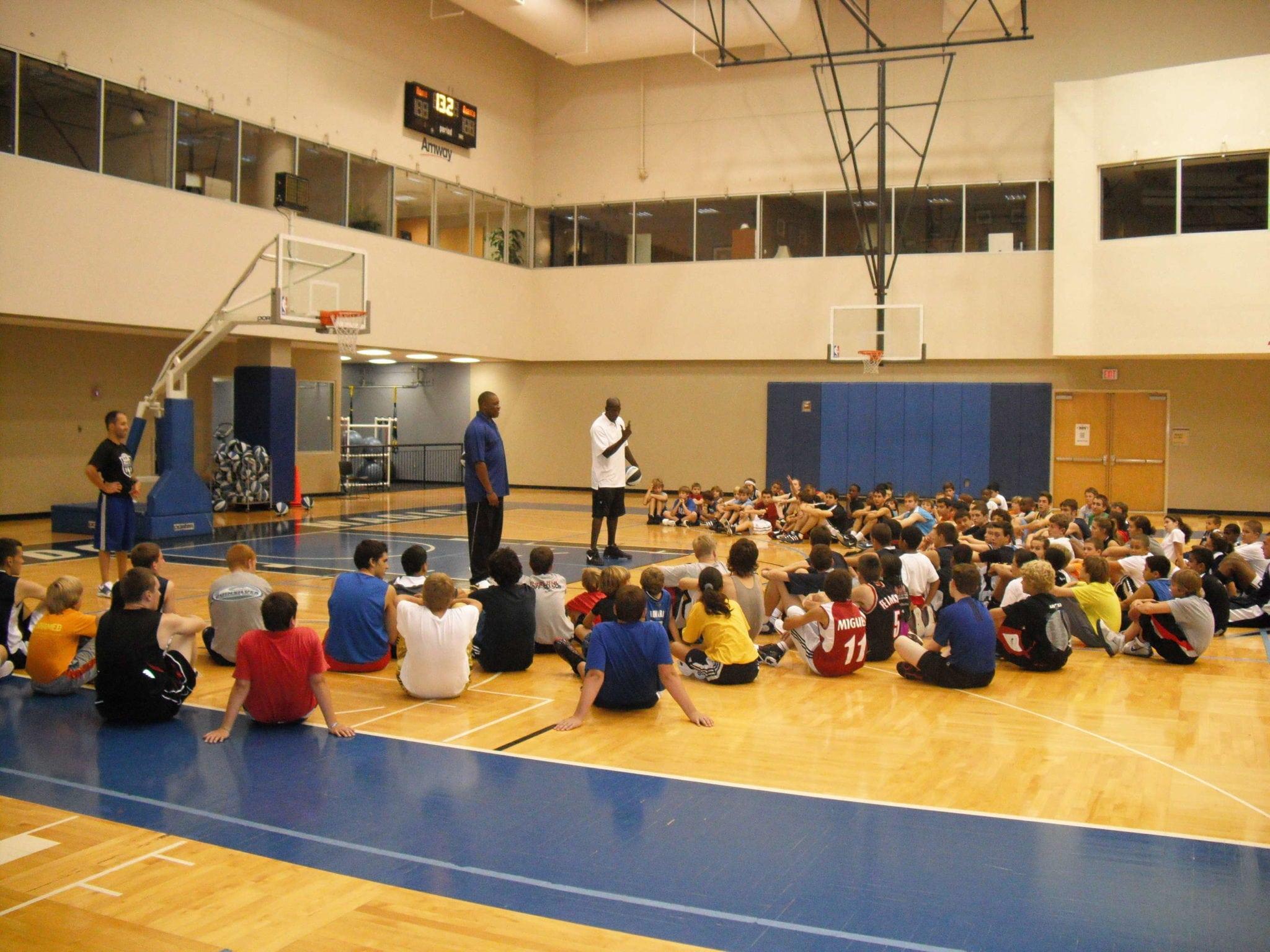 Blog desde Orlando: Visita de dos ex-jugadores NBA