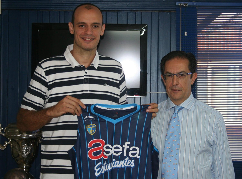 Carlos Jiménez comienza una nueva etapa en Asefa Estudiantes