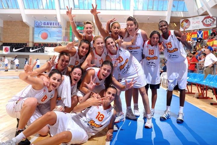 U18F: España se cuelga el bronce