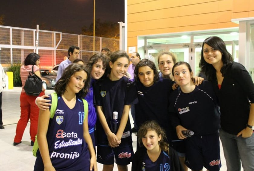 Blogs de cantera. Primer partido de Liga del Infantil C Femenino