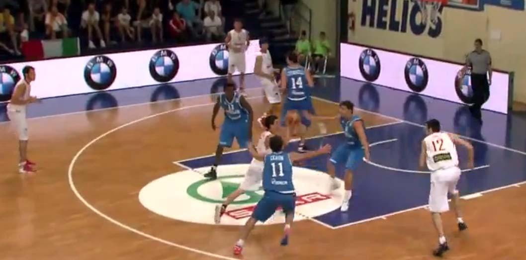 Jaime y Fran pierden 76-78 ante Italia y se juegan los cuartos ante Eslovenia
