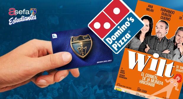 """Domino´s Pizza y la obra de teatro """"Wilt"""", nuevos descuentos con tu abono"""