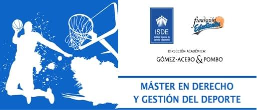 II Máster en Derecho y Gestión del Deporte, últimas plazas disponibles