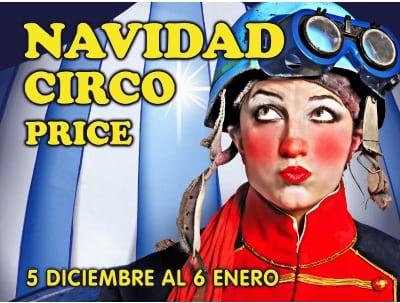 Celebra las navidades en el Teatro Circo Price por solo 12 euros por ser abonado de Asefa Estu
