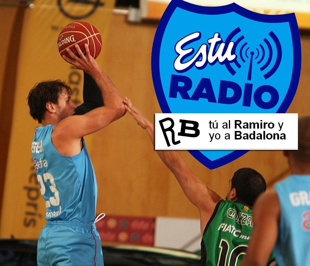 Vive en EstuRadio el Asefa Estudiantes- FIATC Joventut, ofrecido por Tú al Ramiro y yo a Badalona