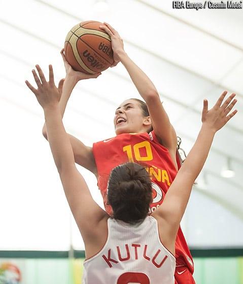 España U16 Femenina pasa a cuartos invicta. Francia ya espera.