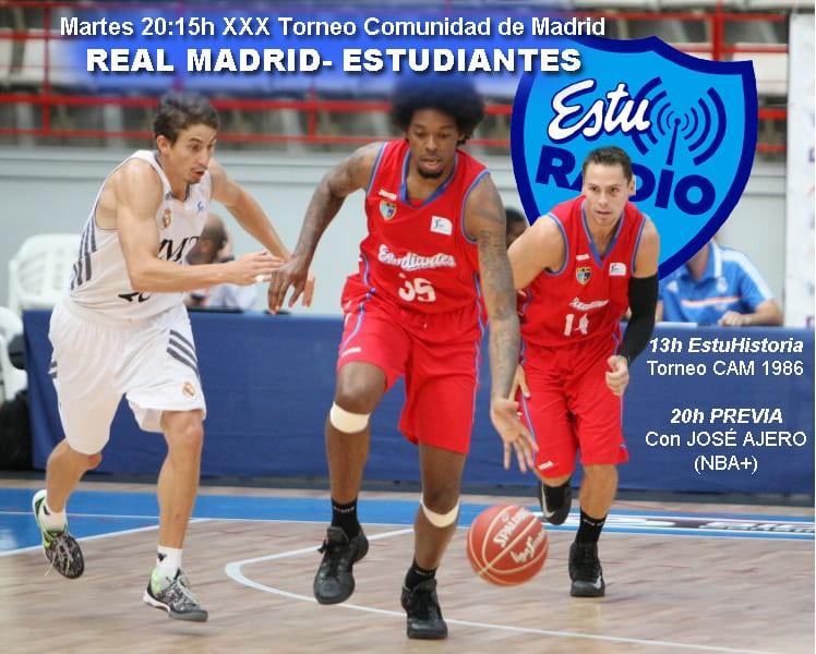 Vive el torneo de la Comunidad con EstuRadio, con José Ajero (NBA+) de comentarista invitado.