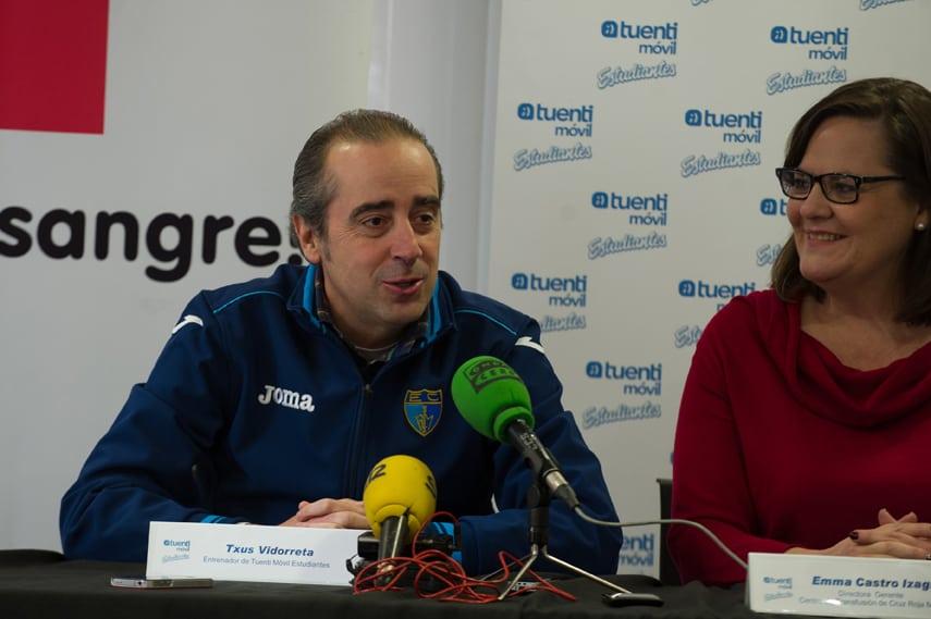 """Vidorreta: """"El derbi tiene que suponer un punto de inflexión para cambiar la racha"""""""