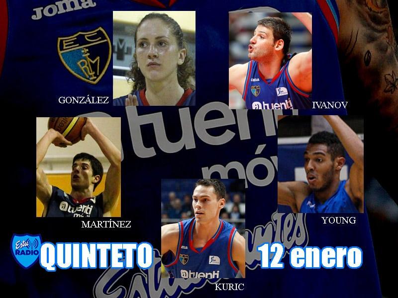 9º Quinteto EstuRadio: Kuric, Martínez, Young, Ivanov y González