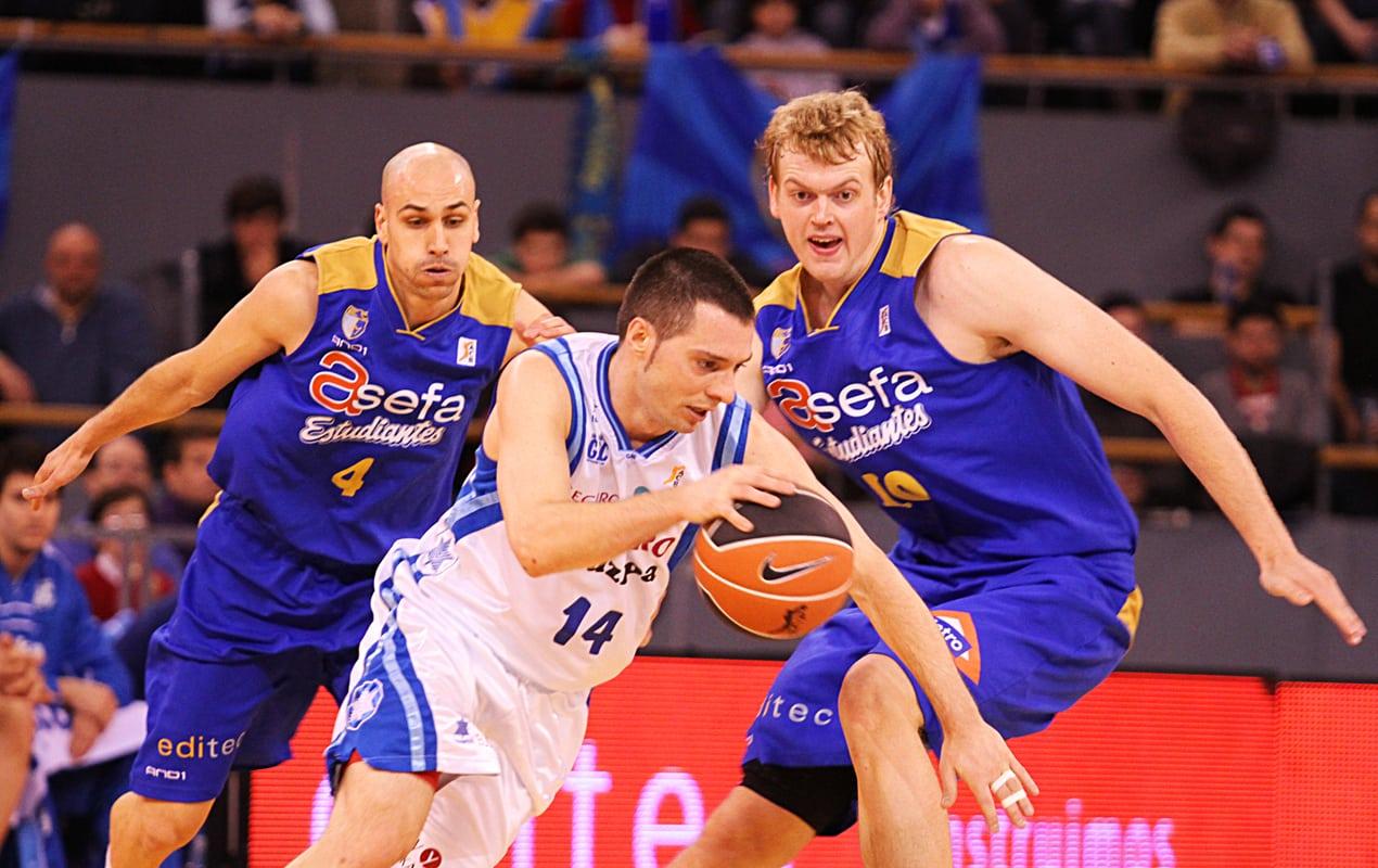 Gipuzkoa Basket lleva cuatro años seguidos perdiendo contra Tuenti Móvil Estudiantes en Madrid