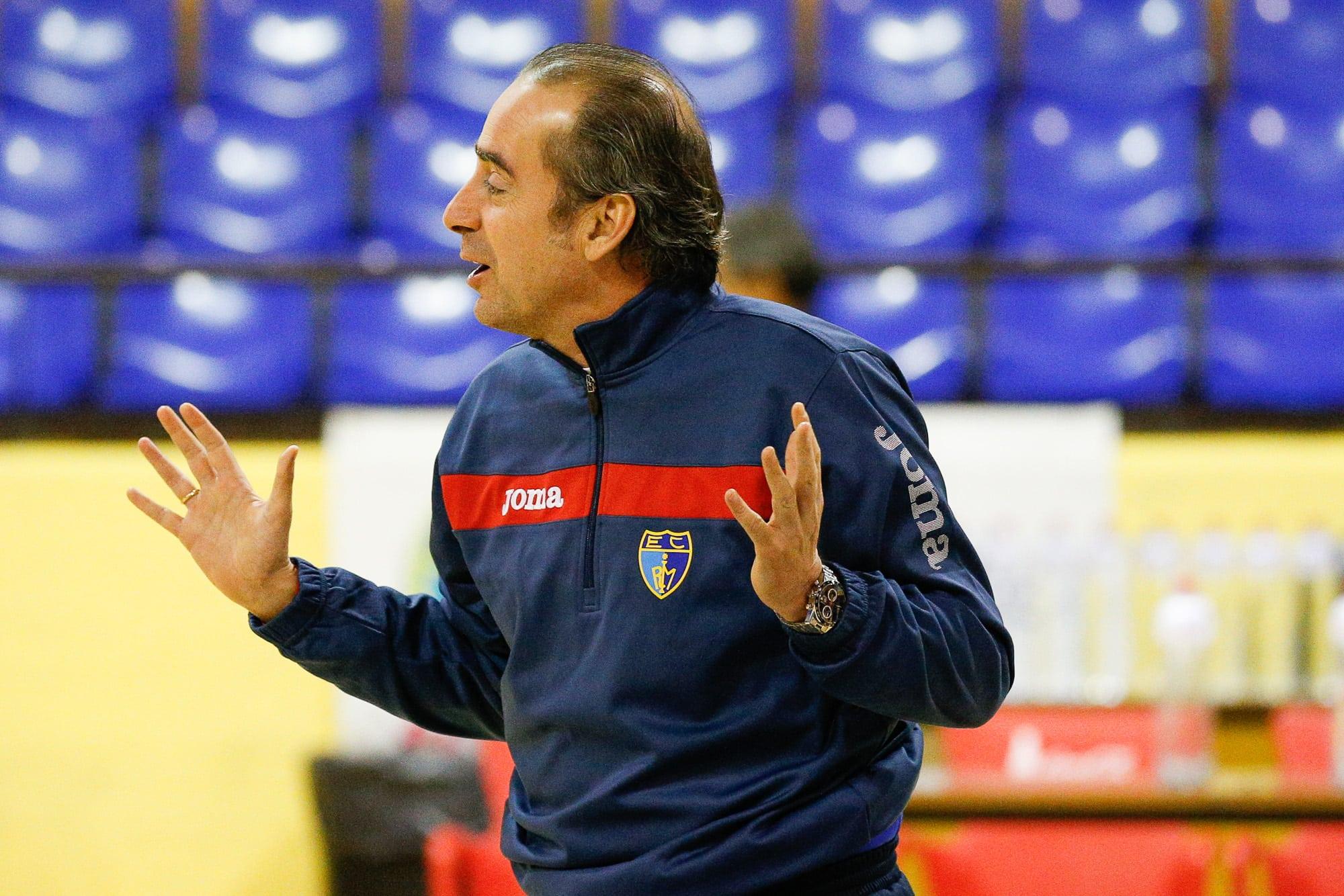 """Vidorreta: """"Tendremos la rotación interior completa, buen momento porque Cajasol puede usar hasta 6 jugadores por dentro"""""""