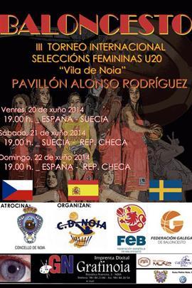 Primeros amistosos para Sara Zaragoza con la selección U20 Femenina: torneo de Noia