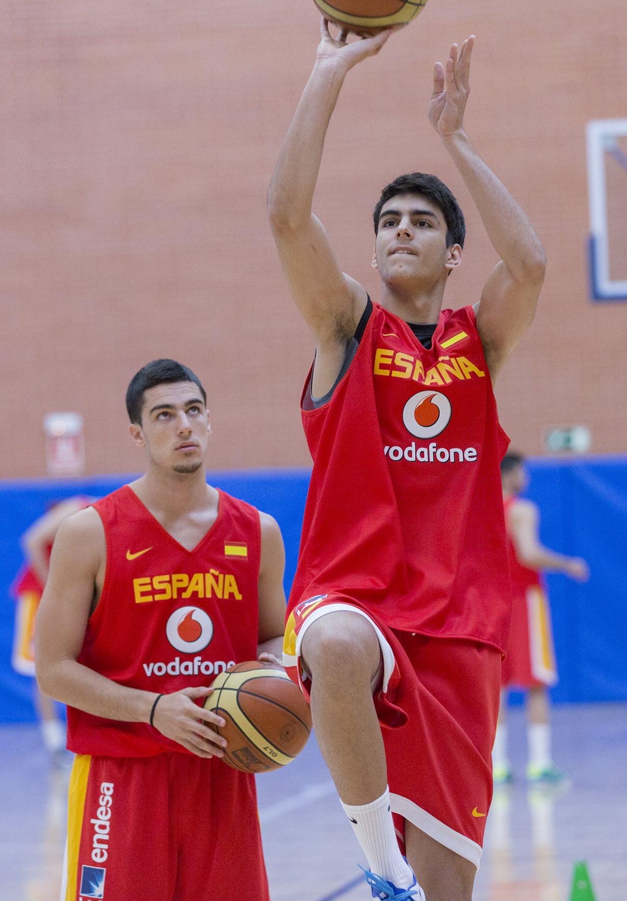 Segundo torneo para Jacobo Díaz con la selección U18, ahora en Logroño