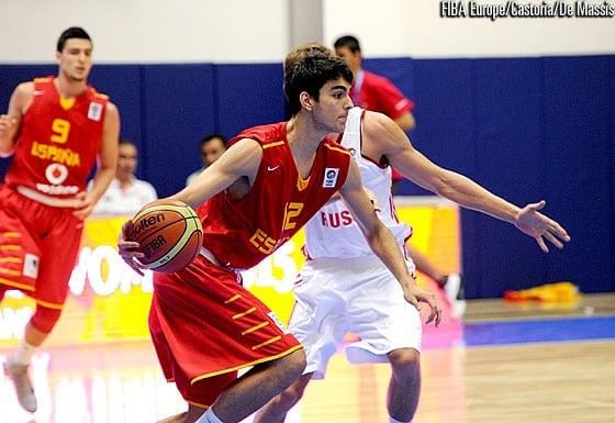 Jacobo Díaz, uno de los descartes de la U19 masculina