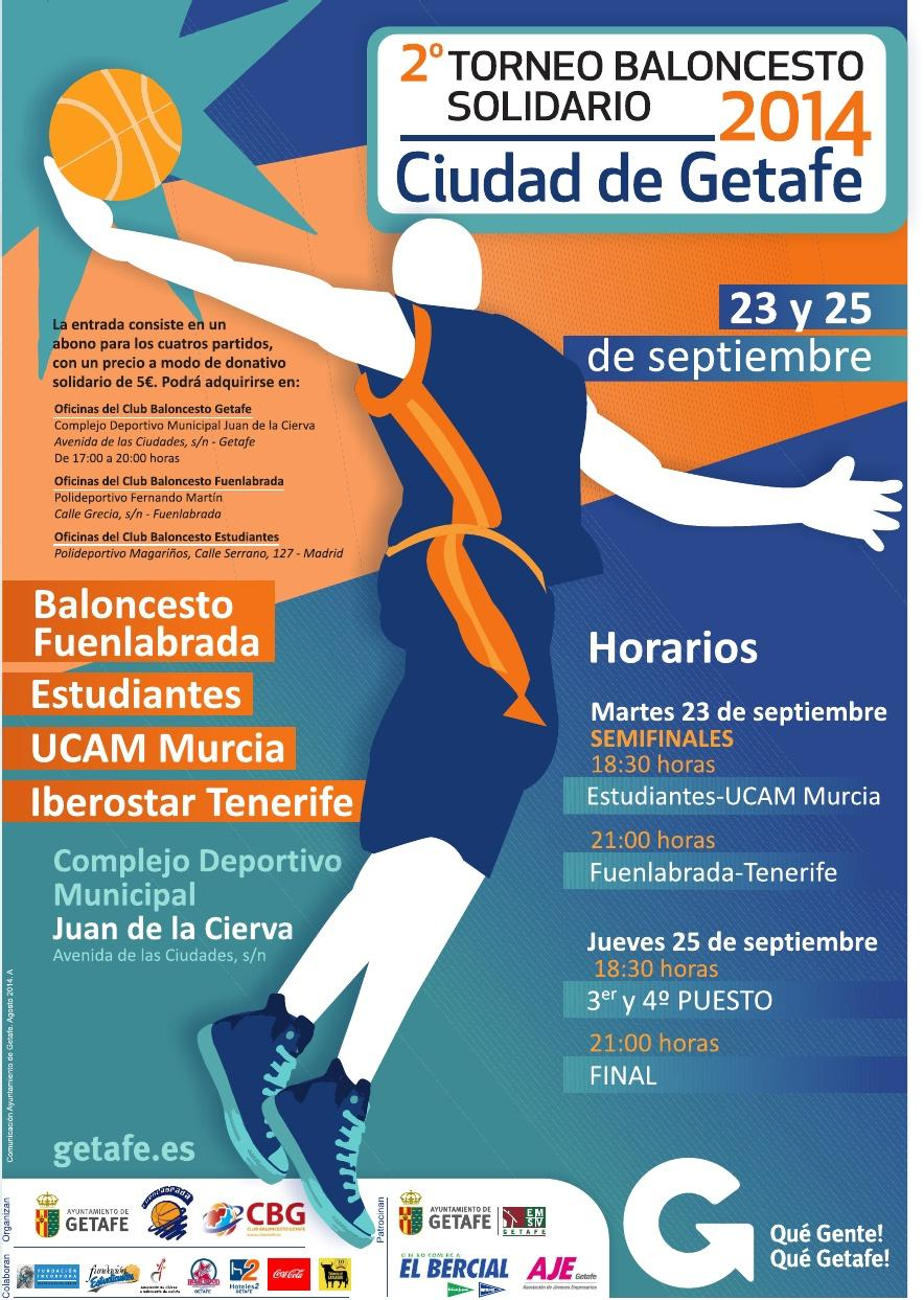 """El Torneo Solidario """"Ciudad de Getafe"""", penúltima estación antes del debut ACB"""