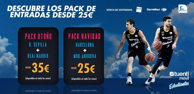 Pack Otoño: Sevilla y Real Madrid, desde 35 euros los dos partidos