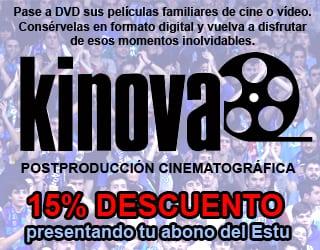 15% con tu abono en Kinova, especialistas en digitalización de películas familiares de cine o vídeo