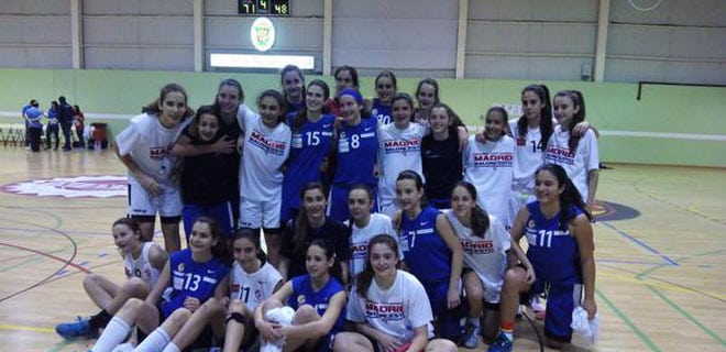 La selección de Madrid infantil femenina, con la estudiantil Lucía del Grado, se asegura la permanencia