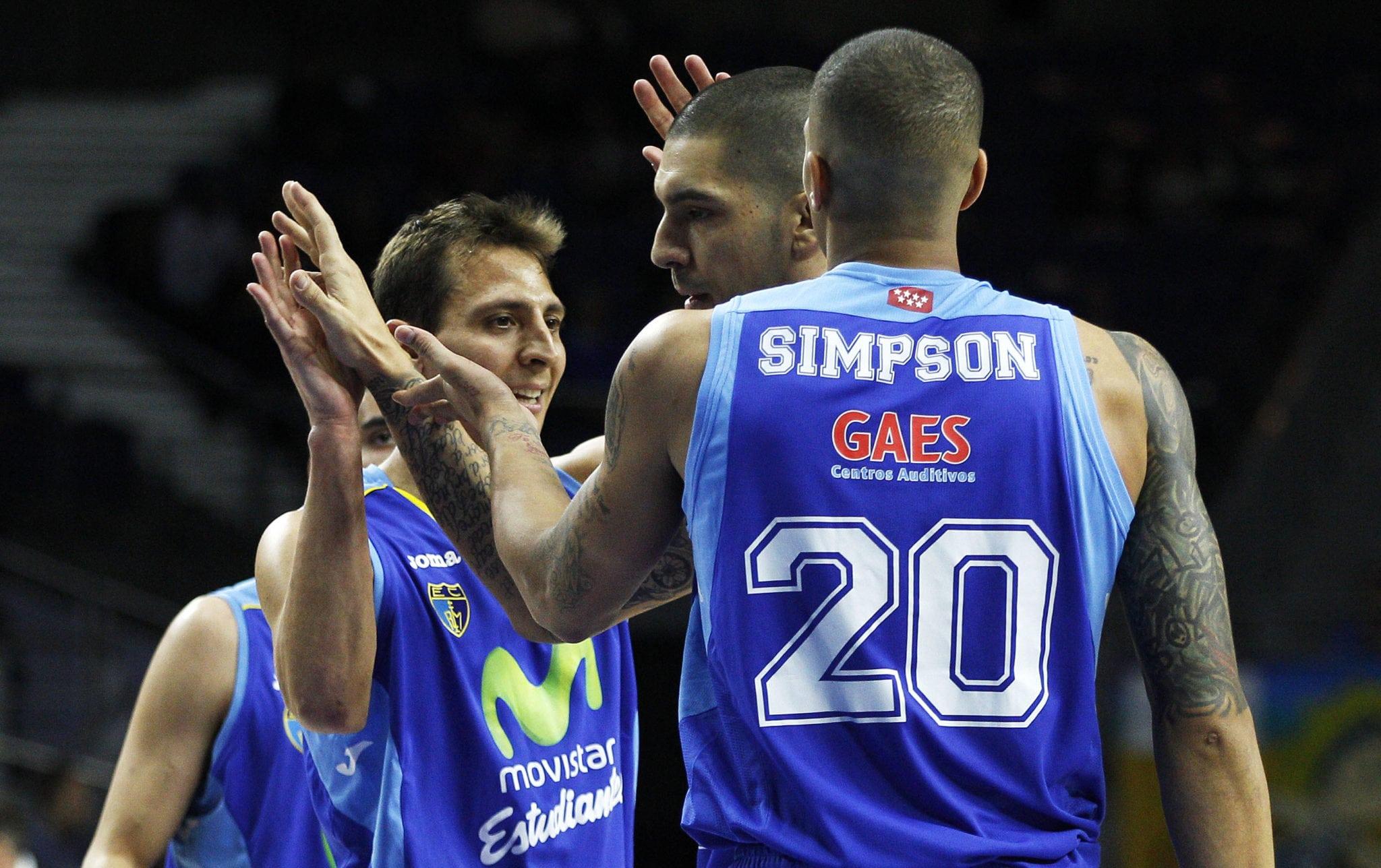 """Diamon Simpson, tras hacer su mejor partido ACB: """"Que en una liga con tanta calidad me canten `MVP´es un cumplido"""""""