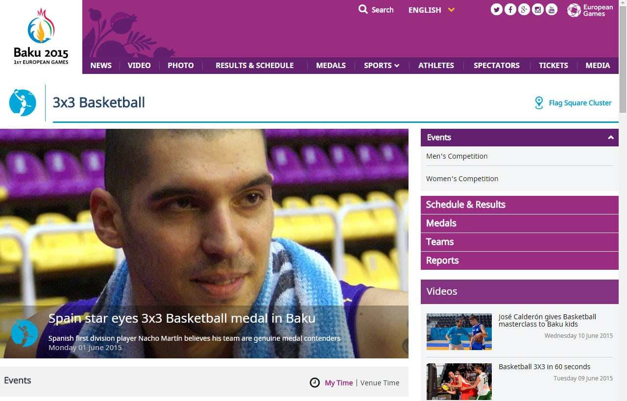 """Nacho Martín ante los Juegos Europeos de Bakú: """"nunca se había hecho algo tan serio en baloncesto 3×3, voy con la ilusión de un chaval"""""""