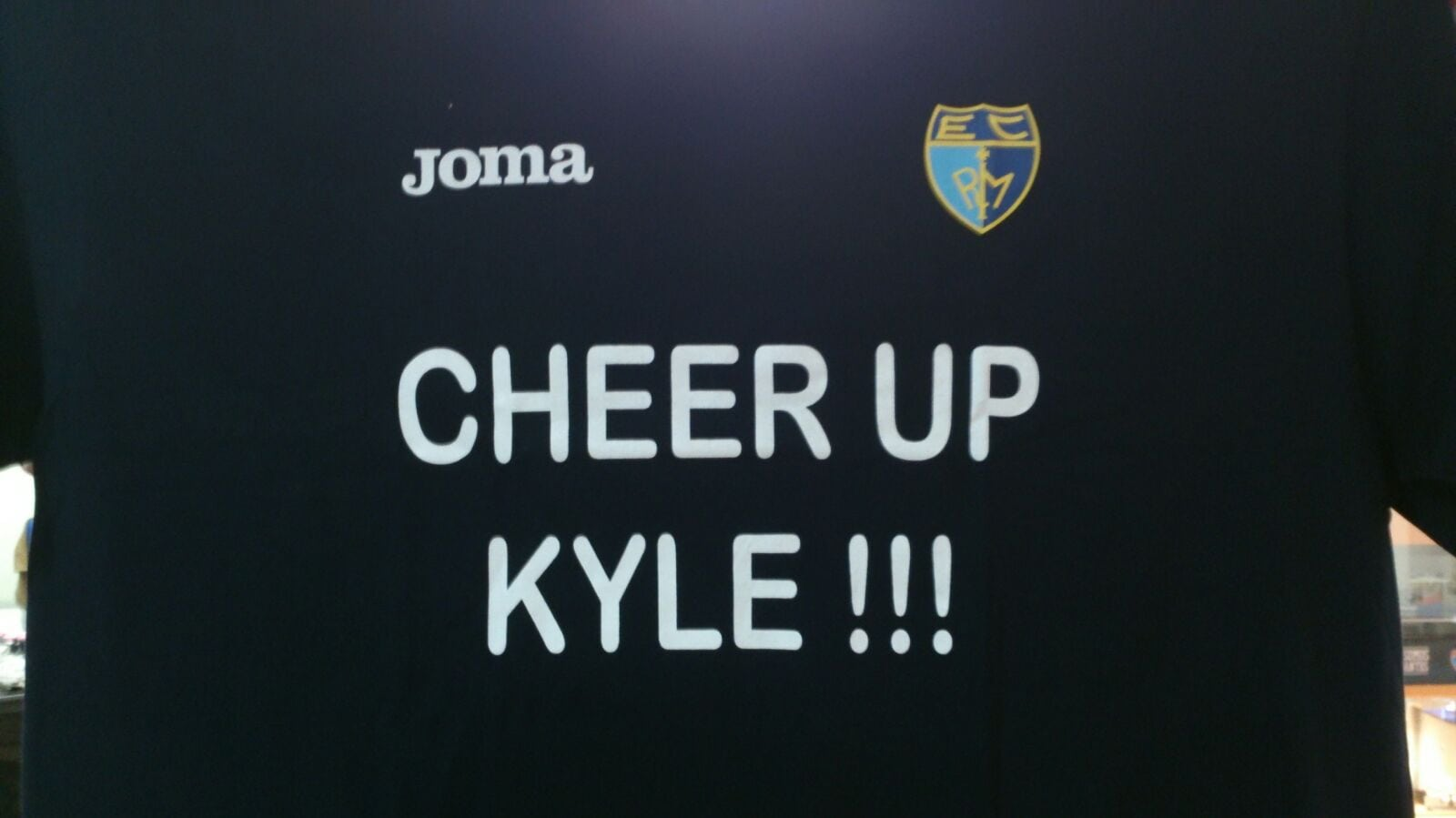 Cheer up Kyle!