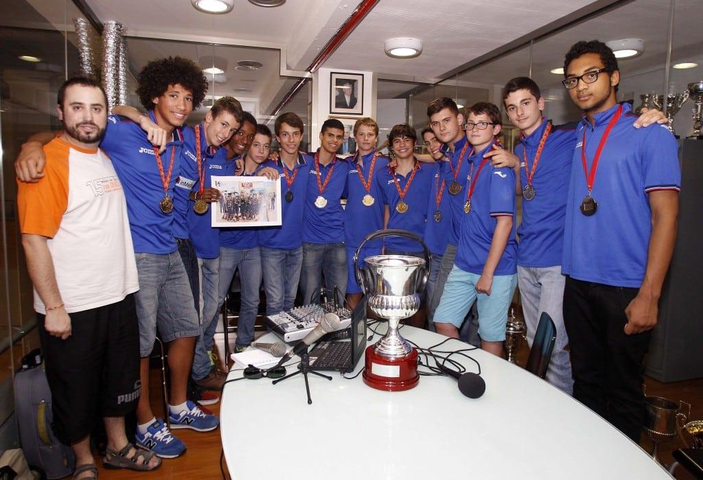 Cinco representantes de la cantera de Movistar Estudiantes en las selecciones españolas del Torneo de Íscar