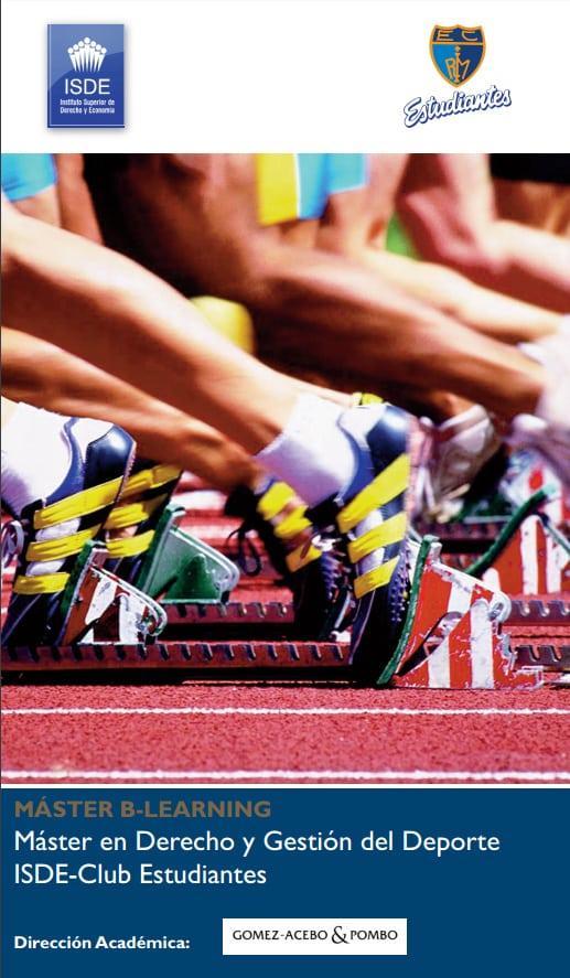 El V Máster en Derecho y Gestión del Deporte empieza en febrero de 2016