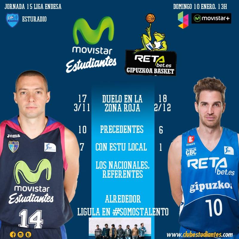 Movistar Estudiantes- Retabet.es GBC: la primera final de 2016 (domingo 13h. Movistar +. EstuRadio)
