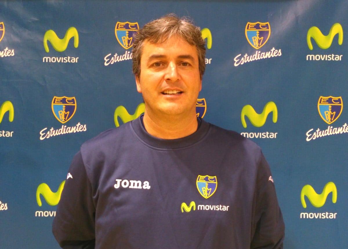 Sergio Valdeolmillos dirigirá a Movistar Estudiantes en el encuentro contra FIATC Joventut