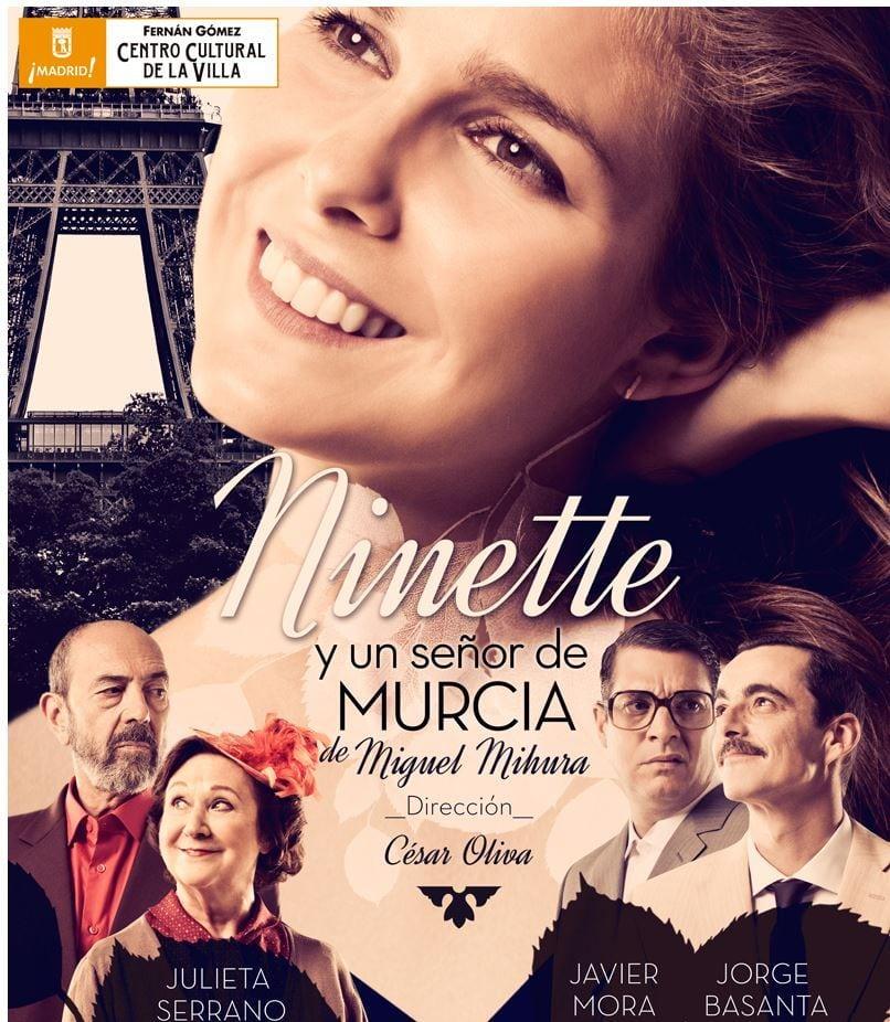 """Descuentos en el Teatro Fernán Gómez con tu abono: """"Ninette y un señor de Murcia"""" y """"Huevos con amor"""", sólo hasta el día 14"""