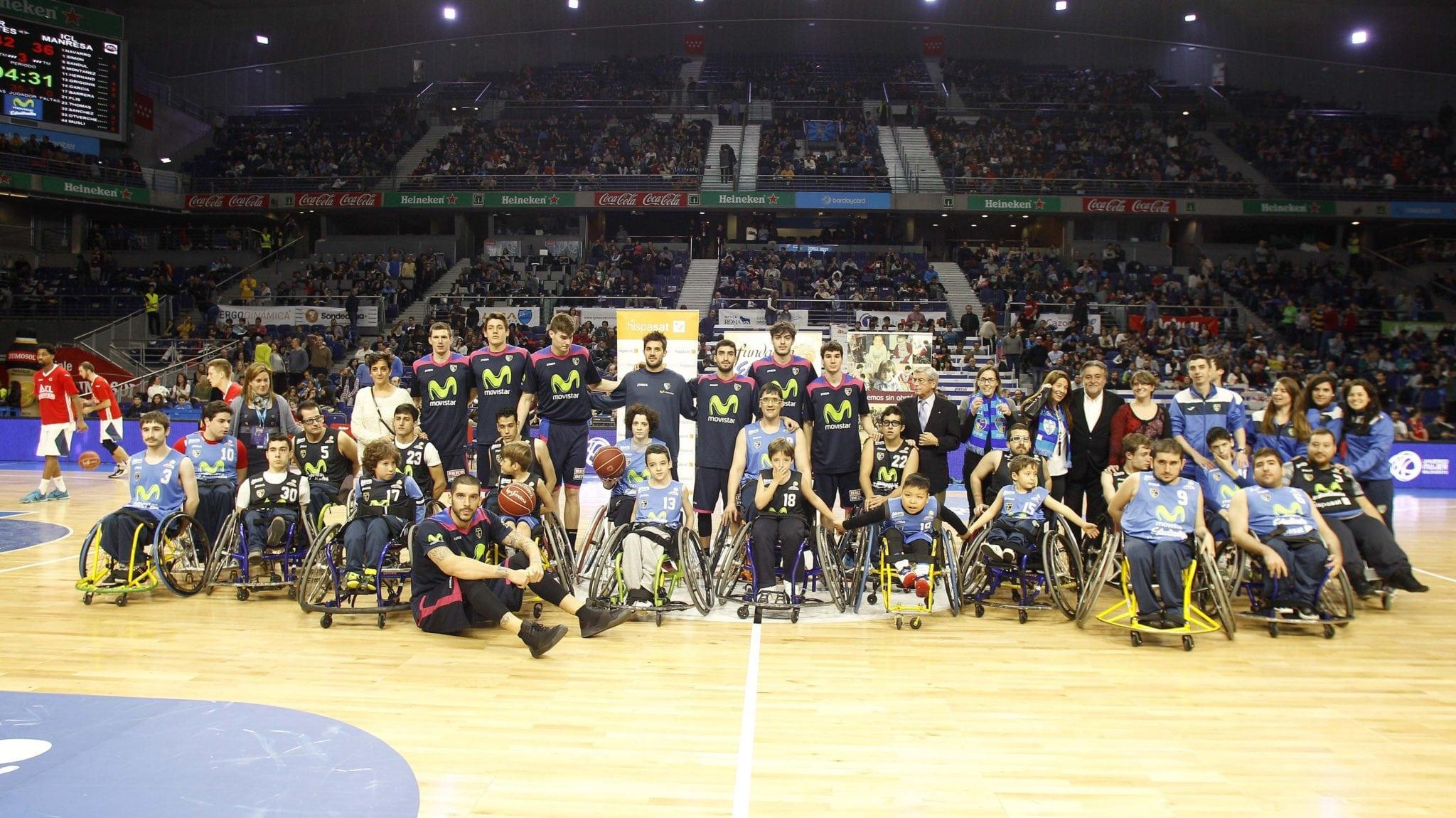 VÍDEO: La afición de Movistar Estudiantes ya conoce a su nuevo equipo de baloncesto en silla de ruedas